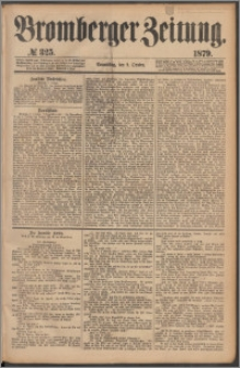 Bromberger Zeitung, 1879, nr 325