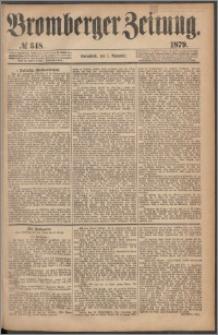 Bromberger Zeitung, 1879, nr 348