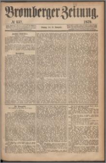Bromberger Zeitung, 1879, nr 357