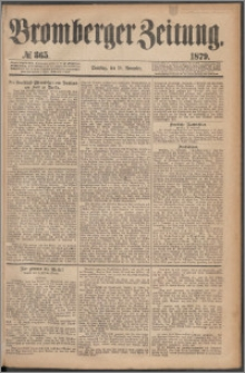 Bromberger Zeitung, 1879, nr 365