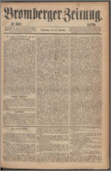 Bromberger Zeitung, 1879, nr 367