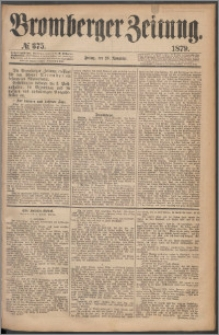 Bromberger Zeitung, 1879, nr 375