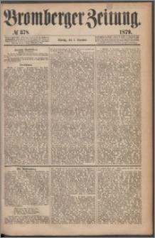 Bromberger Zeitung, 1879, nr 378