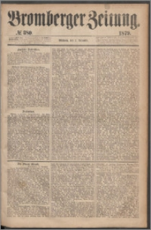 Bromberger Zeitung, 1879, nr 380