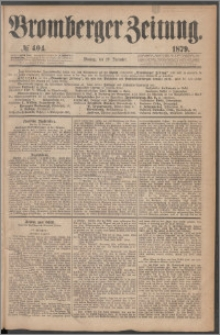 Bromberger Zeitung, 1879, nr 404