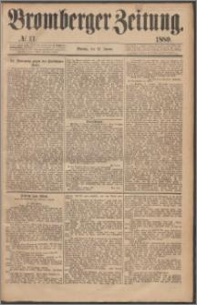 Bromberger Zeitung, 1880, nr 11