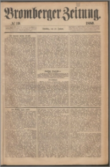 Bromberger Zeitung, 1880, nr 19