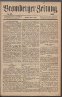 Bromberger Zeitung, 1880, nr 72