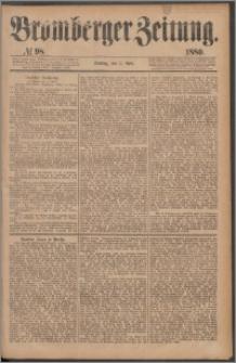 Bromberger Zeitung, 1880, nr 98