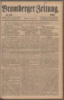 Bromberger Zeitung, 1880, nr 170