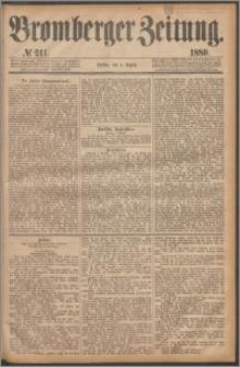 Bromberger Zeitung, 1880, nr 211