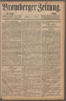 Bromberger Zeitung, 1880, nr 240