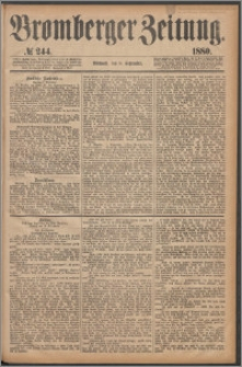 Bromberger Zeitung, 1880, nr 244