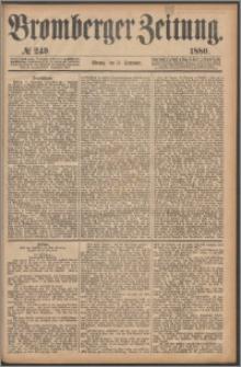 Bromberger Zeitung, 1880, nr 249