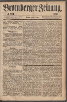 Bromberger Zeitung, 1880, nr 293