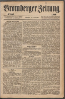 Bromberger Zeitung, 1880, nr 303