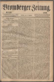 Bromberger Zeitung, 1880, nr 313