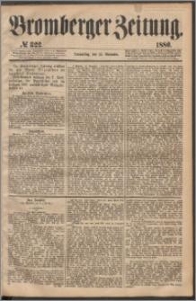 Bromberger Zeitung, 1880, nr 322