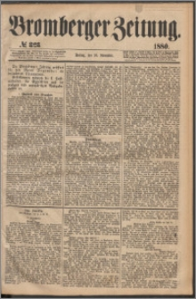 Bromberger Zeitung, 1880, nr 323