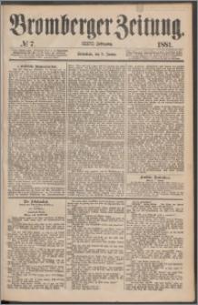 Bromberger Zeitung, 1881, nr 7