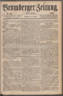 Bromberger Zeitung, 1881, nr 49