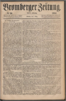 Bromberger Zeitung, 1881, nr 59