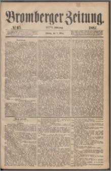 Bromberger Zeitung, 1881, nr 65