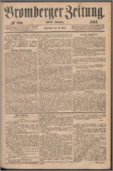 Bromberger Zeitung, 1881, nr 109