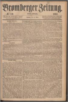Bromberger Zeitung, 1881, nr 110