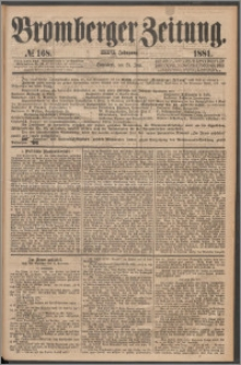 Bromberger Zeitung, 1881, nr 168