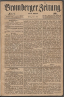 Bromberger Zeitung, 1881, nr 174