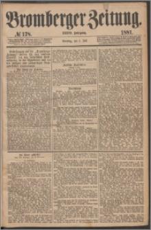 Bromberger Zeitung, 1881, nr 178