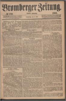 Bromberger Zeitung, 1881, nr 180