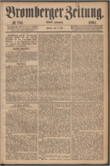 Bromberger Zeitung, 1881, nr 181