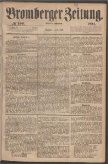 Bromberger Zeitung, 1881, nr 190