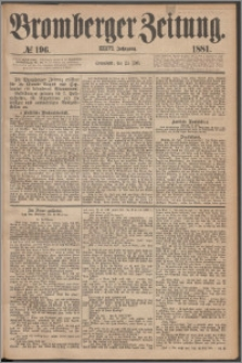Bromberger Zeitung, 1881, nr 196