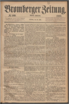 Bromberger Zeitung, 1881, nr 199