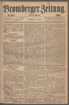 Bromberger Zeitung, 1881, nr 201