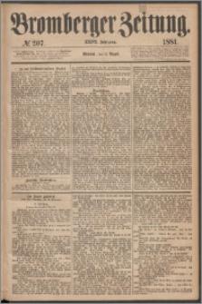 Bromberger Zeitung, 1881, nr 207
