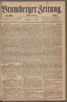 Bromberger Zeitung, 1881, nr 208