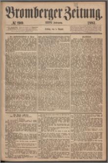 Bromberger Zeitung, 1881, nr 209