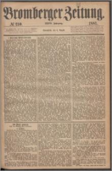 Bromberger Zeitung, 1881, nr 210