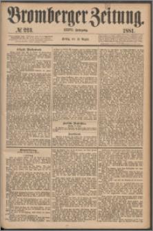 Bromberger Zeitung, 1881, nr 223