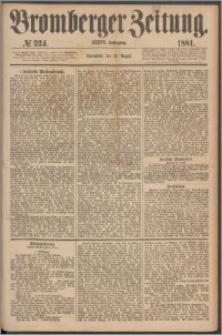 Bromberger Zeitung, 1881, nr 224