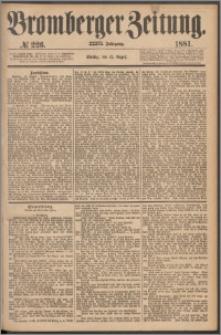 Bromberger Zeitung, 1881, nr 226