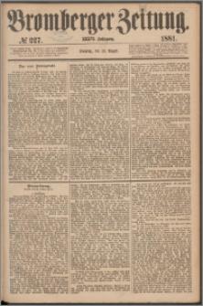 Bromberger Zeitung, 1881, nr 227