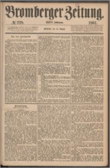 Bromberger Zeitung, 1881, nr 228