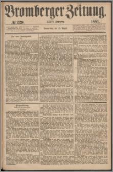Bromberger Zeitung, 1881, nr 229
