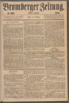 Bromberger Zeitung, 1881, nr 230
