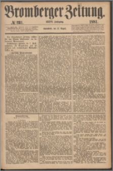 Bromberger Zeitung, 1881, nr 231